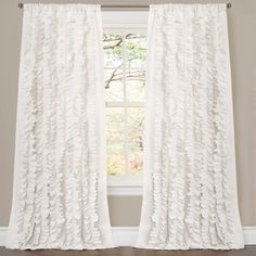 "Belle Curtain Panel (84""x54"") - Lush Decor© at Target. Affiliate link."