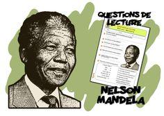 Questions de lecture sur Nelson Mandela.