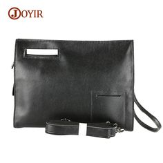 Cheap leather handbags, Buy Quality fashion handbag directly from China handbags fashion Suppliers: JOYIR Genuine Leather Bag Messenger Fashion Satchels Zipper Crossbody Bag Day Clutches Tote Shoulder Bag Cow Leather Handbag Men Leather Clutch Bags, Leather Handbags, Crossbody Bags, Men's Totes, Big Purses, Black Luxury, Luxury Handbags, Designer Handbags, Cow Leather