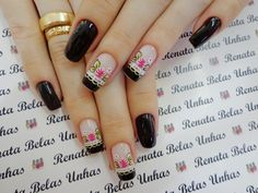 Machine learning meets trending news, viral videos, funny gifs, and so much more. Cute Spring Nails, Homemade Black, New Nail Art, Love Nails, Nail Inspo, Girly Things, Pedicure, Nail Art Designs, Hair Beauty