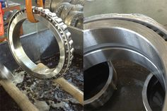 Tapered Roller Bearing 3510/500, US$7500.00/piece, ID: 500mm, OD: 720mm, Width: 236.000mm, Width of Inner Ring: 180mm, Width of Outer Ring: 100mm Chamfer of Inner Ring: 6mm, Chamfer of Outer Ring:2.5mm, Basic Dynamic Load Rating: 3507KN, Basic Static Load Rating: 9020KN Limited Speed (rpm): 205(grease)/291(oil), Gross Weight: 289kg Grease, The Row, Oil, Bear, Rings, Ring, Bears, Jewelry Rings, Greece