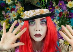 http://UpCycle.Club makeup artist Anastasia Stacie Vanelli is fully embracing the weird and wacky ways of #Wonderland in this tutorial. She transforms herself from a normal girl to a Mad Hatter, using clever make up tricks and a few quirky accessories. She gives a step-by-step guide, which includes tips for defining cheekbones and making eyes look as crazy as is humanly possible. The end result is a Mad Hatter that would give Johnny Depp a run for his money… @upcycleclub @yahoosports