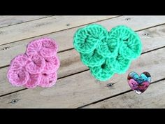 Crochet coeur point crocodile / Heart crocodile stitch crochet - YouTube