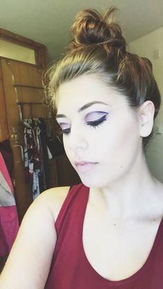Graphic Eyeliner! CARA LIPPITT   Makeup