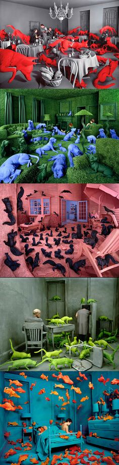 The incredibly realistic installations of Sandy Skoglund