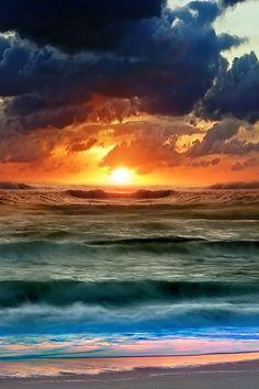 A sunset or a sunrise?