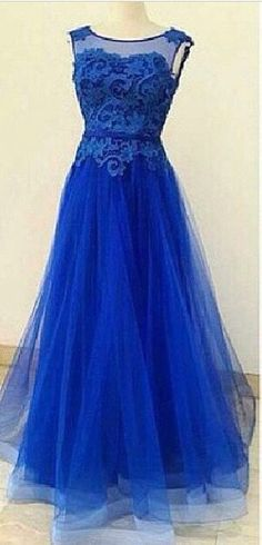 Pd60922 Charming Prom Dress,Appliques Prom Dress,O-Neck Prom Dress,Tulle prom…