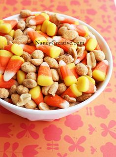 Candy Corn Payday Mix