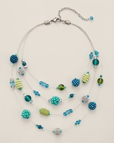 Zwena Illusion Necklace - Chico's