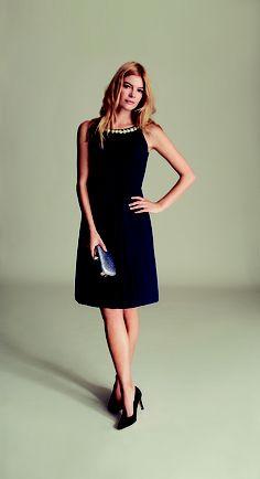 Claudia Dress - £89 Samir Box Clutch - £35 Elina Court Shoe - £45