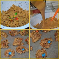 No Bake Christmas Cookies on Pinterest | No bake cookies, No bake ...