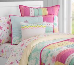 Isla Surf Patch Quilted Bedding | Pottery Barn Kids