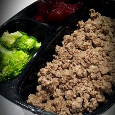Ostrich mince • Broccolli • Beetroot Ostrich Meat, Meal Deal, Beetroot, Espresso, Beef, Meals, Food, Espresso Coffee, Meat