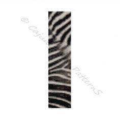 ZEBRA Print PeyoteBeaded Bracelet Pattern by CajunsDesignPatternS, $6.50
