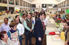 El alcalde de Morelia entregó a obra de rehabilitación del Mercado Nicolás Bravo, misma en la cual se invirtieron 7.5 mdp en su segunda etapa – Morelia, Michoacán, 09 de ...