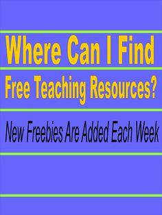 Literacy & Math Ideas: Freebie Friday