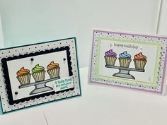 Cata, Stamping Up, Greeting Cards Handmade, Hand Stamped, Card Making, Happy Birthday, Sweets, Simple, Blog