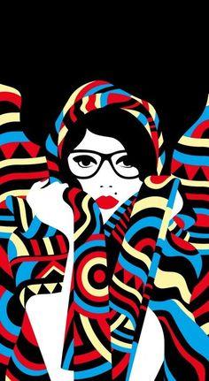 Graphic artist, Missdelite