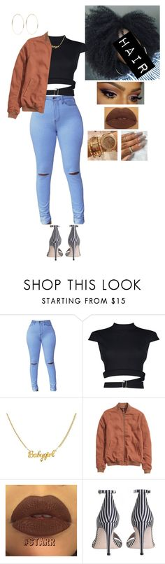 """""""Untitled #1022"""" by medinea ❤ liked on Polyvore featuring Boohoo, Zimmermann and Kenneth Jay Lane"""
