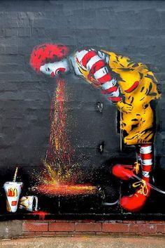 Poor Ronald...