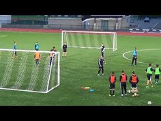 Man City, 4 Goal 1 Touch Game - YouTube