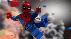 The Lego Movie Spiderman Wallpaper