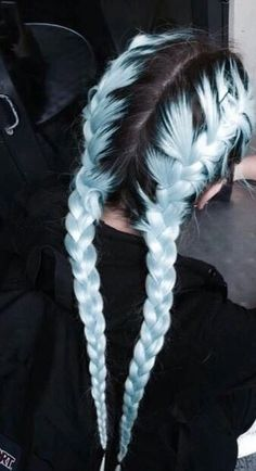 pastel blue hair - Google Search