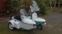 Druzeta Sidecar, Vespa, Scooters, Cars And Motorcycles, Motorbikes, Classic, Vehicles, Design, Wasp