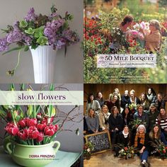 """Cultivating Place today (July 14), I'm joined by Debra Prinzing - the woman herself whose gardening, writing, thinking and advocacy led to the books (she's written around 11 at this point!): """"The 50-Mile Bouquet"""" and """"Slow Flowers"""". Debra is a leader and driving force behind a renewed American Grown Flowers market awareness, a resurgence in American flower farming and the Slow Flowers movement. I am thrilled that she joins me in conversation about her work. more: www.mynspr.org."""