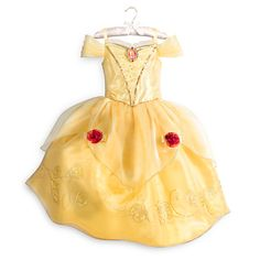 Belle Costume | Disney Store $50. Not sure she needs a new one, size-wize.