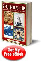 """How To: 20 Christmas Gifts to Make and Christmas Dessert Recipes"" eBook | FaveCrafts.com"