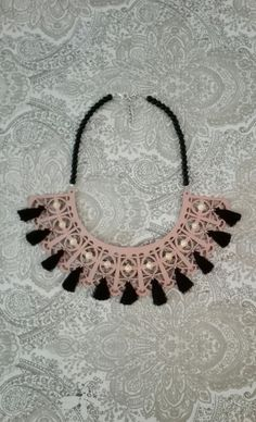 Hey, I found this really awesome Etsy listing at https://www.etsy.com/listing/385378754/leather-necklace-statement-necklace