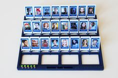 Guess Who - The DIY Doctor WHO edition game. Dr. Who for any cast