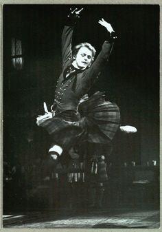 Mikhail Baryshnikov in 'La Sylphide' with Royal Danish Ballet
