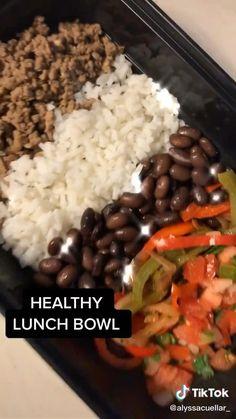 Easy Healthy Meal Prep, Good Healthy Recipes, Healthy Food Prep, Easy Lunch Meal Prep, Lunch Recipes, Weekly Meal Prep, Budget Meal Prep, Healthy Snacks, Easy Meals