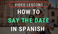 Time to learn more Spanish vocabulary! Check out this video to learn how to say the date in Spanish, including the months of the year and days of the week. Date In Spanish, Spanish Words, Medium Blog, Spanish Culture, Spanish Vocabulary, Months In A Year, Learning Spanish, Campaign, Dating