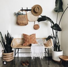 When design meets function, please and thank you! It doesn't always happen, for example this bench. It's rad, but honestly became the… Room Ideas Bedroom, Bedroom Decor, Home Decoracion, Aesthetic Room Decor, My New Room, Cozy House, Home Decor Inspiration, Home And Living, Living Room