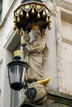 Street Lamp - Antwerp, Belgium