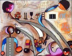 "Saatchi Art Artist Concha Flores Vay; Painting, ""THIS IS IT"" #art"