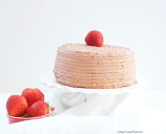 This delicious Diabetic Birthday Cake Recipe has a sugar free vanilla cake with sugar free chocolate frosting. A decadent and tasty dessert for everyone! Diabetic Birthday Cakes, Diabetic Cake, Birthday Desserts, Diabetic Desserts, Köstliche Desserts, Diabetic Recipes, Delicious Desserts, Pre Diabetic, Diabetic Foods