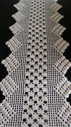 Photo from album Crochet Lace Edging, Crochet Flower Patterns, Crochet Doilies, Crochet Flowers, Crochet Table Topper, Crochet Table Runner, Crochet Tablecloth, Crochet Home, Knit Crochet