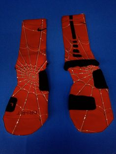 Nike Elite Socks_SpiderMan on Etsy, $25.99