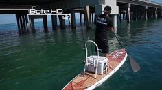 """Tom's newest obsession - BOTE HD 12'6"""" Stand-up Paddle Paddle Board by BOTE Paddleboards."""