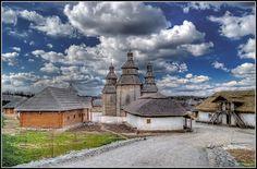 Zaporozhian Sich, Zaporizhia. Ukraine