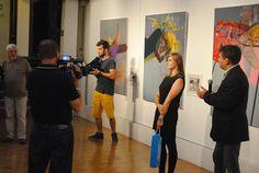 with curator - Gustaw Nawrocki Wall Canvas, Coat, Fashion, Paper, Moda, Sewing Coat, Fashion Styles, Peacoats, Fashion Illustrations