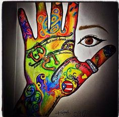 """""""Me"""" One of my favorites. Pencil, sharpie and inktense"""
