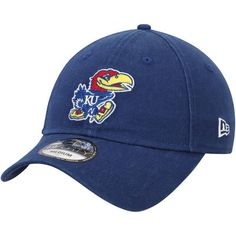 more photos 36b48 1944c Men s New Era Royal Kansas Jayhawks Relaxed 49FORTY Fitted Hat