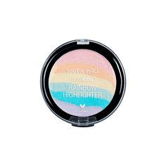 Color Icon Rainbow Highlighter (€5,27) ❤ liked on Polyvore featuring beauty products, makeup, face makeup, beauty, accessories, filler, cosmetics, spray makeup and highlight makeup