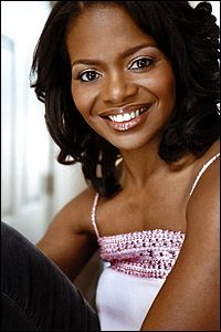 LaChanze: This woman's VOICE! Her name means charmed - doesn't she look it?! Beautiful!