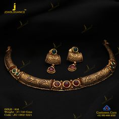 175584e8d Get In Touch With us on +919904443030 Antique Jewellery, Ethnic Jewelry, Gold  Jewellery